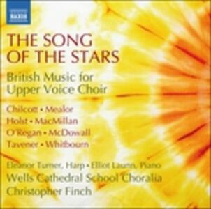 The Song of the Stars. British Music for Upper Voice Choir - CD Audio