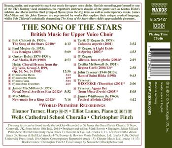 The Song of the Stars. British Music for Upper Voice Choir - CD Audio - 2