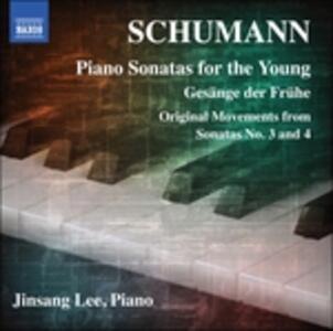 Piano Sonatas for the Young - CD Audio di Robert Schumann