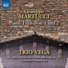 Trii per Pianoforte e archi n.1 e n.2 - CD Audio di Giuseppe Martucci