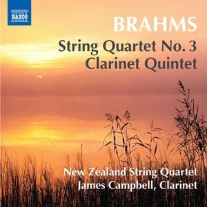 Quartetto per archi - Quintetto con clarinetto op.115 - CD Audio di Johannes Brahms,New Zealand String Quartet