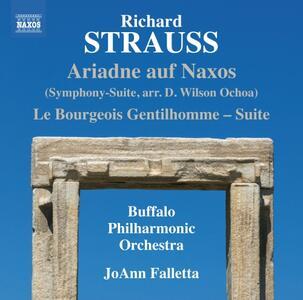 Arianna a Nasso - CD Audio di Richard Strauss,JoAnn Falletta,Buffalo Philharmonic Orchestra