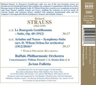 Arianna a Nasso - CD Audio di Richard Strauss,JoAnn Falletta,Buffalo Philharmonic Orchestra - 2