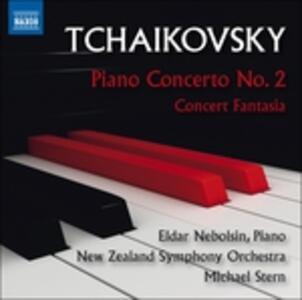 Concerto per pianoforte n.2 op.44 - Fantasia-concerto - CD Audio di Pyotr Il'yich Tchaikovsky