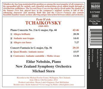 Concerto per pianoforte n.2 op.44 - Fantasia-concerto - CD Audio di Pyotr Il'yich Tchaikovsky - 2