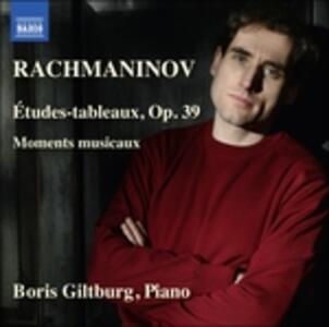 Études Tableaux op.39 - Moments Musicaux - CD Audio di Sergej Vasilevich Rachmaninov