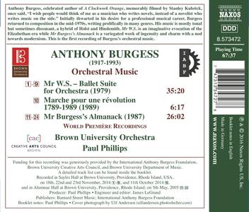 Ballet Suite for Orchestra - CD Audio di Anthony Burgess - 2