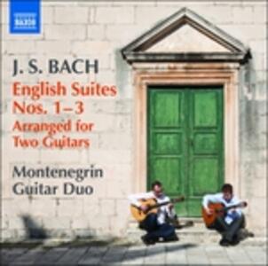 Suites inglesi - CD Audio di Johann Sebastian Bach
