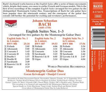 Suites inglesi - CD Audio di Johann Sebastian Bach - 2