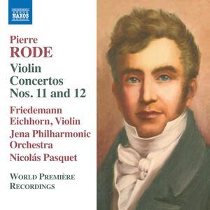 Concerto per violino n.11 op.23, n.12 op.27, Air Varié op.26 - CD Audio di Nicolas Pasquet,Pierre Rode