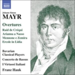 Ouvertures - CD Audio di Johann Simon Mayr