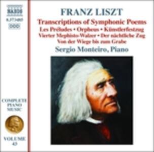 Opere per pianoforte vol.43 - CD Audio di Franz Liszt