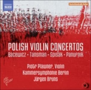 Concerti polacchi per violino - CD Audio di Grazyna Bacewicz