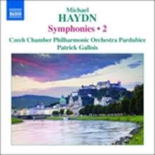 Sinfonie vol.2 (Integrale) - CD Audio di Johann Michael Haydn