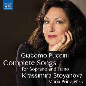Liriche da camera complete per soprano e pianoforte - CD Audio di Giacomo Puccini,Maria Prinz,Krassimira Stoyanova