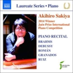 Recital - CD Audio di Akihiro Sakiya