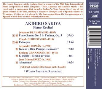 Recital - CD Audio di Akihiro Sakiya - 2