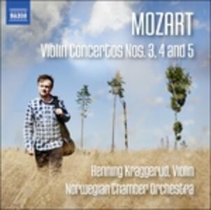 Violin Concertos No.3-5 - CD Audio di Wolfgang Amadeus Mozart