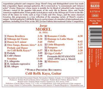 Musica per chitarra - CD Audio di Jorge Morel - 2