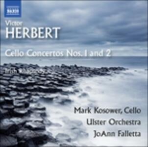 Concerti per violoncello n.1, n.2 - CD Audio di Victor Herbert