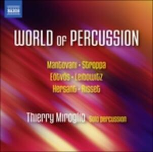 World of Percussion - CD Audio