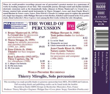 World of Percussion - CD Audio - 2