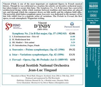 Sinfonia n.2 - Souvenir op.62 - CD Audio di Vincent D'Indy - 2