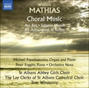 Musica corale - CD Audio di William Mathias