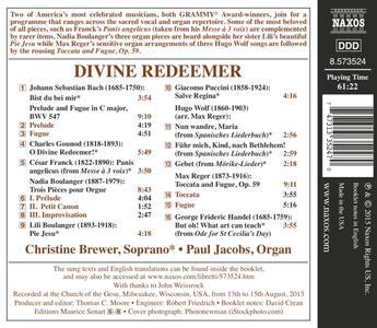 Divine Redeemer - CD Audio di Christine Brewer - 2