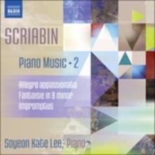 Allegro appassionato - Fantasia in Si minore op.28 - Improvvisi - CD Audio di Alexander Nikolayevich Scriabin