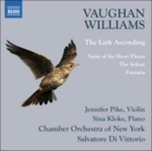 The Lark Ascending - Suite of 6 Short Pie - CD Audio di Ralph Vaughan Williams