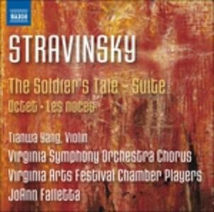 Suite histoire du soldat - Ottetto - CD Audio di Igor Stravinsky