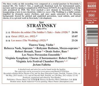 Suite histoire du soldat - Ottetto - CD Audio di Igor Stravinsky - 2