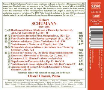 Studi su un tema di Beethoven - Geistervariationen - Variazioni su un tema di Schubert - CD Audio di Robert Schumann - 2