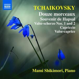 Douze morceaux op.40 - Souvenir de Hapsal - CD Audio di Pyotr Il'yich Tchaikovsky,Mami Shikimori