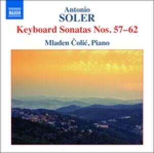 Sonate per tastiera nn.57-62 - CD Audio di Antonio Soler