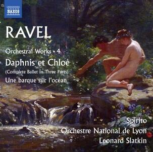 Dafni e Cloe (Daphnis et Chloé) - CD Audio di Maurice Ravel