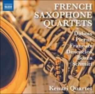 French Saxophone Quartets - CD Audio di Gabriel Pierné