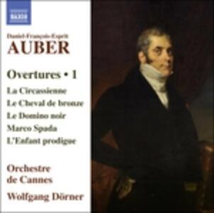 Ouvertures vol.1 - CD Audio di Daniel-François-Esprit Auber