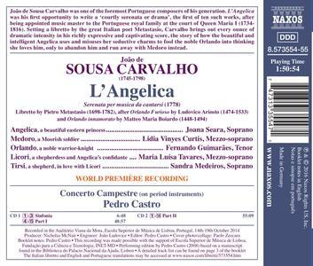 L'Angelica - CD Audio di Joao de Sousa Carvalho - 2