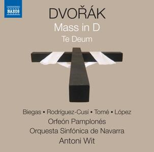 Te Deum op.103 - Messa in Re op.86 - CD Audio di Antonin Dvorak,Antoni Wit