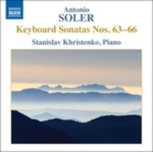 Sonate per tastiera vol.6 - CD Audio di Antonio Soler