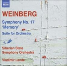 Sinfonia n.17 op.137 - Suite per orchestra - CD Audio di Mieczyslaw Weinberg