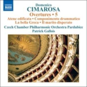 Ouvertures vol.5 - CD Audio di Domenico Cimarosa