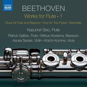 Musica da camera per flauto vol.1 - CD Audio di Ludwig van Beethoven,Kazunori Seo