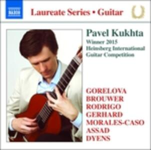 Guitar Recital - CD Audio di Pavel Kukhta