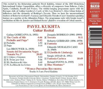 Guitar Recital - CD Audio di Pavel Kukhta - 2