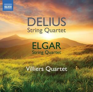 Quartetto per archi - CD Audio di Edward Elgar,Frederick Delius,Villiers Quartet