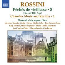 Musica da camera e rarità vol.8 - CD Audio di Gioachino Rossini,Alessandro Marangoni