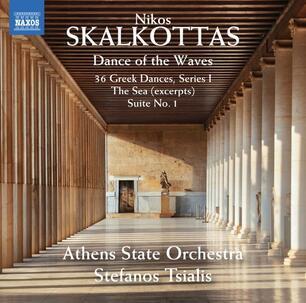 Dance of the Waves - Nikos Skalkottas - CD   IBS